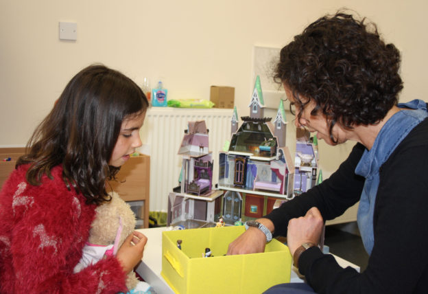 Queen Margaret University masters the art of child's play